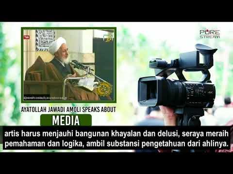 Ayatullah Jawadi Amuli: Media adalah Bahasa Kaum Zaman Now   Farsi sub Bahasa Indonesia