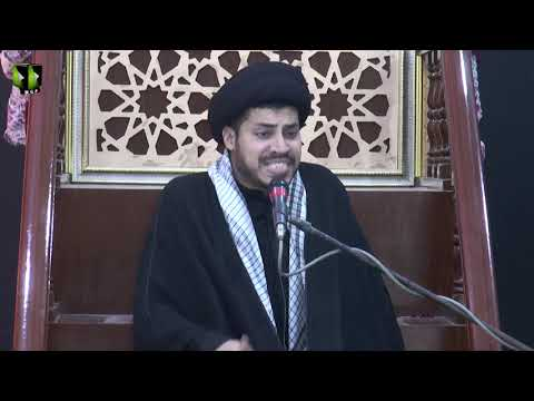 [07] Topic: Nusrat-e-Imam Hussain (as) | Moulana Haider Ali Jafri | Muharram 1441/2019 - Urdu