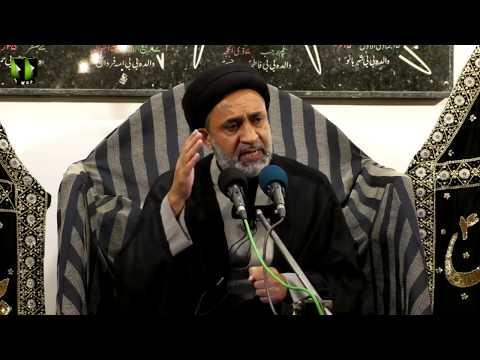 [03] Topic: Quran, Karbala Or Ham | H.I Muhammad Haider Naqvi | Muharram 1441 - Urdu