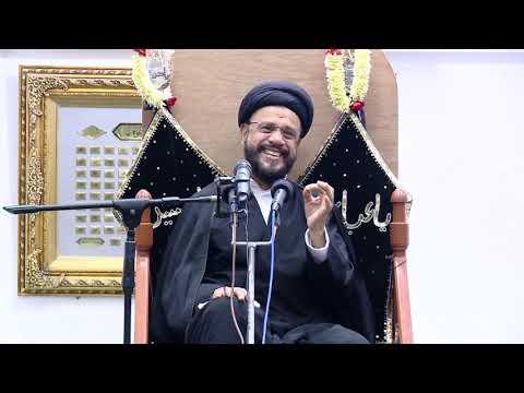 10th Majlis Shab 10th Muharram 1441/09.09.2019 Topic:Challenges Faced By Today\'s Youth I HI Syed Mohammad Zaki Baqri-Ur