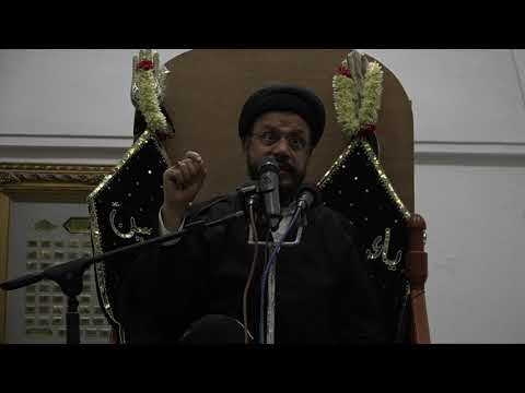 12th Majlis Shab 12th Muharram 1441/11.09.19 Topic:Challenges Faced By Today\'s Youth I HI Syed Mohammad Zaki Baqri-Urdu
