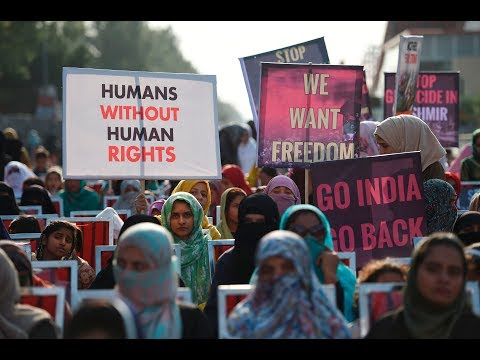 [22/10/19] Pakistanis protest against India's crackdown in Kashmir - English