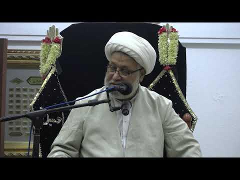 Majlis Shahadat Bibi Masooma-E-Qum (S.A) 3rd Rabi-ul-Awwal 1441/01.11.2019 By H I Ghulam Abbas Raeesi-Urdu