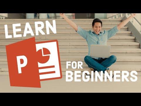 Microsoft PowerPoint Tutorial - Beginners Level 1 - English