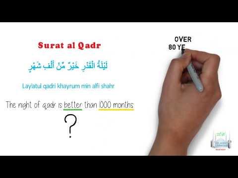 Quran Tafsir for Kids - Surat al Qadr - English