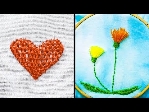 18 Easy Embroidery Hacks for kids - All Languages