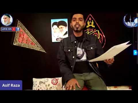 [Poetry]   Asif Raza   Imam Khomeini R.A. 31st Anniversary   06 June 2020   English