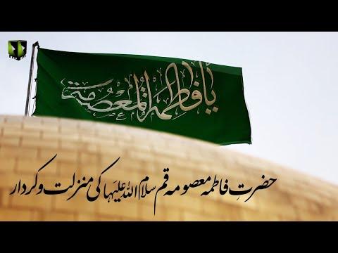 [Clip] Hazrat Fatima Masooma Qom (sa) Ke Manzilat wa Kirdaar   Moulana Ali Naqi Hashmi - Urdu