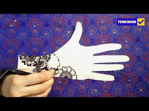 Simple Mehndi Design for Hands   All Languages