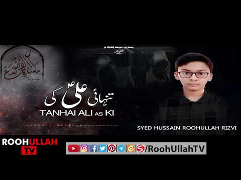 Marsia Khwani | مرثیہ خوانی | Tanhai Ali as ki | Roohullah TV | Urdu
