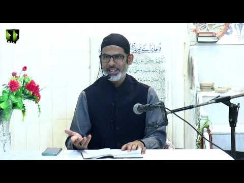 [6] Tafsir Surah -e- Waqiya - تفسیر سورہ واقعہ   Moulana Mubashir Zaidi   Mah-e-Ramzaan 1442   Urdu