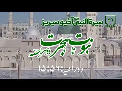[56]Topic: Prophethood to Migration part 2 | Maulana Muhammad Nawaz - Urdu