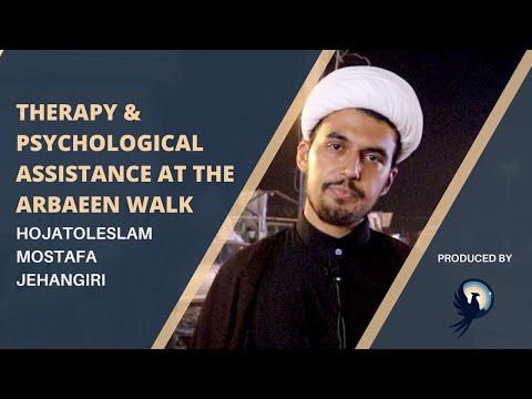 Arba'een Reflections: Therapy at the Arba\'een Walk | Therapist/Islamic scholar | Arba\'een 2021 - English