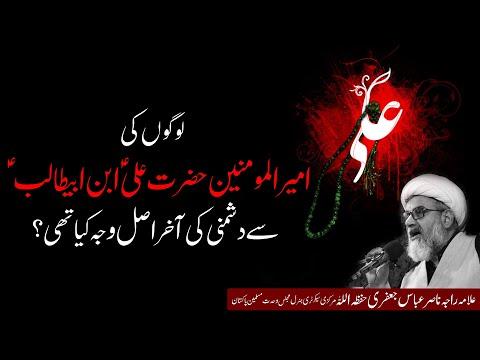 Mola Ali se dushmani ki wajah kia thi?   Allama Raja Nasir Abbas Jafri   Urdu