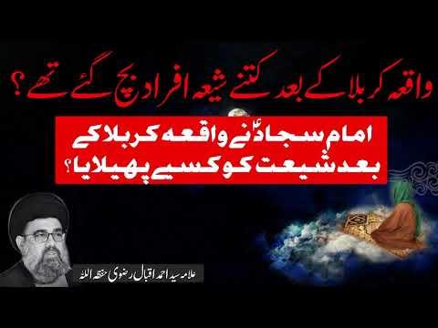 Waqia karbala k bad k halaat   Allama Syed Ahmed Iqbal Rizvi   Urdu