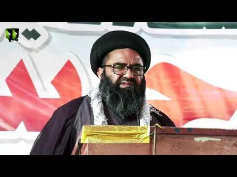 [Speech] Youm-e-Hussain (as) 1443   H.I Kazim Abbas Naqvi   Federal Urdu University, Karachi   Urdu