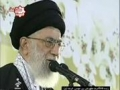 Wali Amr Muslimeen Syed Ali Khamenei - Speech in Mashad 21 March -2010 - Farsi - English