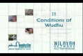 Noor-e-Ahkam 11 Conditions of Wudhu - Urdu