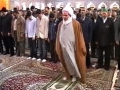 Salat-e-Fajr  Morning Prayers from Haram of Imam Ridha as - Mashad - Arabic