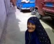 ** Funny ** an old lady climbing door - Persian