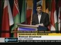 President Ahmadinejad slams US economic policies - 09May11 - English