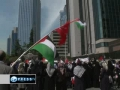 Nakba Day 2011 - Turkish protesters mark anniversary of Palestinian displacement - 15May2011 - English