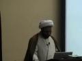 Tri-State Camp - Halal & Haram of Meeting & Eating - H.I. Hurr Shabbiri - English