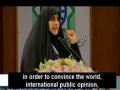 Presence of USA in Iraq and Imam Al Mehdi (a.s) - Iraqi MP Dr Maha al-Dori   - Arabic Sub English