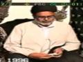 Wish of Imam Is Momin Eat Simple Food - Moulana Zeeshan Haider Jawadi - Urdu