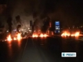 Beriut hits by clashes over Syria - English