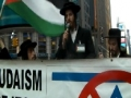 [AL-QUDS 2012] Times Square, New York USA : Rabbi, Neturei Karta - 17 August 2012 - English