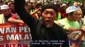 Malaysian protesters burn US flag over anti-Islam film - 21SEP2012 - English