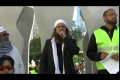 Toronto Protest Against Blasphemous Movie, Speech by Dr. Pir Shahzada Fazeel Ayaz Qasmi - English