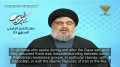 Sayyed Nasrallah on the Current Relationship between Hezbollah/Iran and Hamas - Arabic sub English