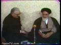 دیدار امام خمینی (ره) با نماینده پاپ  Meeting Pope Delegate - Farsi