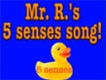 Lets Learn Our Five Senses -  English