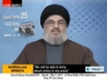 Sayyed Hassan Nasrallah (HA) - Speech - 9 May 2013 - 25th Anniversary al-Nour Radio - [ENGLISH]