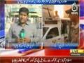 [Media Watch] Ajj News : شہید مولانا دیدار علی کی نمازِ جنازہ کے ا نتظامات - Urd