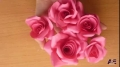 Super Easy Way to Make A  Real Rose  From Paper Tutorial - English