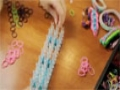How to make a Double X Loom Bracelet - English
