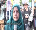 [Al-Quds Day In London 2014] Quds Day Comments by Sister Ruhi Rizvi - Ramadan 1435 - English