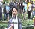 [Al-Quds Day In London 2014] Quds Day Comments by Maulana Aqeel-ul-Gharavi - Ramadan 1435 - Urdu