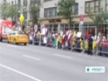 [14 Aug 2014] Rally outside UN in New York condemns Egypt\'s 2013 crackdown - English