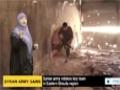 [15 Aug 2014] Syrian army retakes key town in Eastern Ghouta region - English