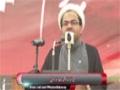 [یوم حسین ع] Speech : Maulana Raza Dawoodani - 18 November 2014 - Karachi University - Urdu