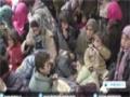 [18 Jan 2015] Syrians fleeing Takfiri militants infighting in Damascus countryside - English