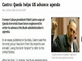 PressTv - Castro: Al-Qaeda helps US advance agenda-English