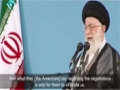 Negotiation with the Great Satan America is Forbidden - Farsi sub English