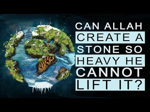 Can Allah create a stone He cannot lift? | Shaykh Amin Rastani | English