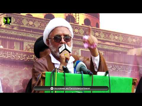 [Markazi Murdabad America Rally] Speech: H.I Mirza Yousuf Hussain   13 May 2018 - Karachi - Urdu